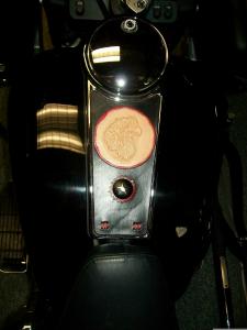 Harley tank insert